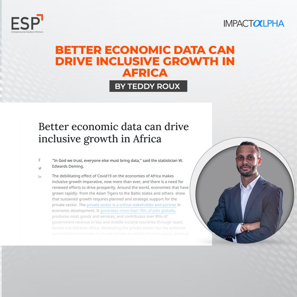 Better economic data can drive inclusive growth in Africa